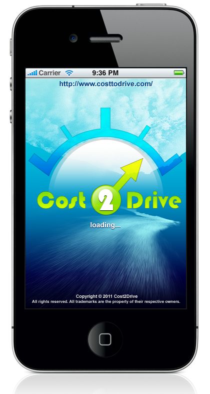 Cost2Drive iPhone App